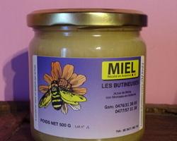 pot de 500gr : 6,50€ pot de 500gr miel de printemps médaille d'argent 2020 : 7,00€