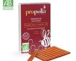 Propolis pure à mâcher BIO : 15,60 €  10gr en plaquette prédécoupée
