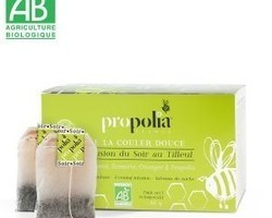 Infusion détente propolis et plantes bio : 6 ,80€ 20 sachets