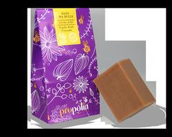 Savon actif BIO : propolis, miel & karité : 6,00€ Pain de savon de 100gr